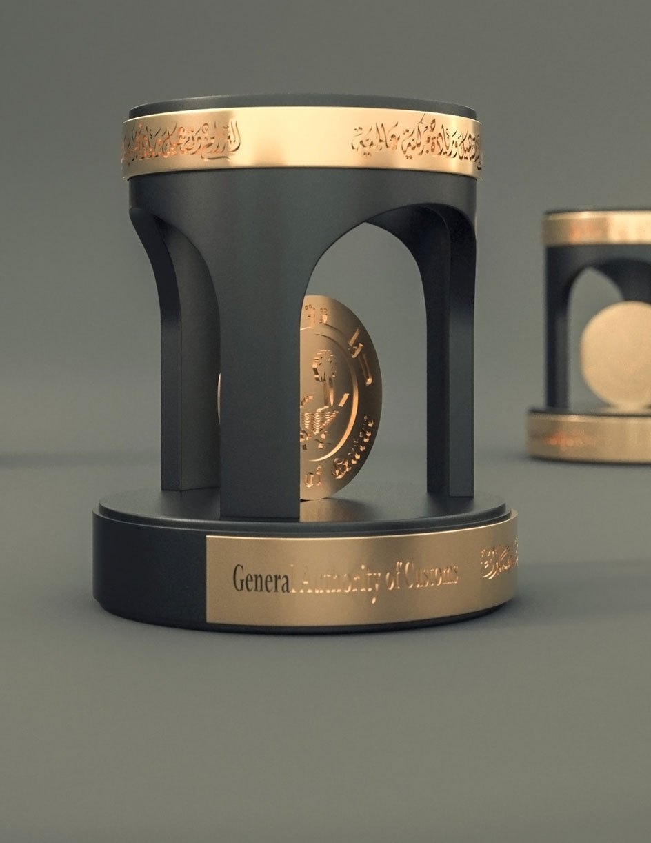 custom made trophy in qatar - corporate gift in Qatar