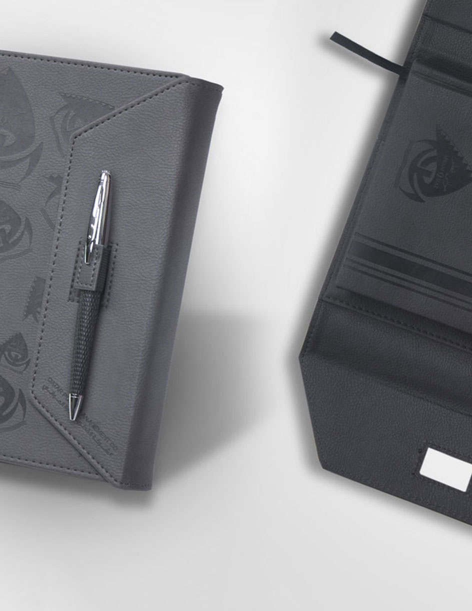 leather notebook and diary qatar - corporate gift in Qatar