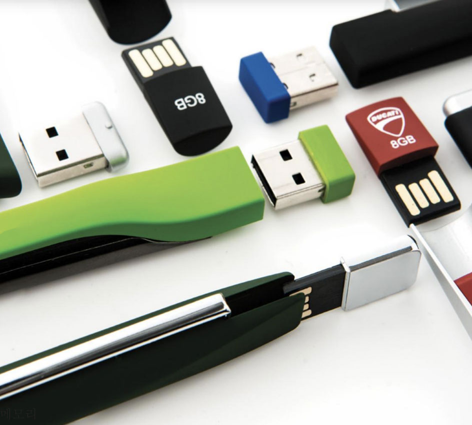 2 in one usb flash drive and pen - corporate gift in Qatar